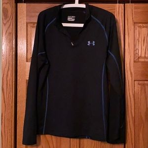 3/4 zip Under Armour cold gear top